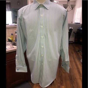 BROOKS BROTHERS SHIRT, Men's Traditional, NO IRON